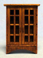 Arts and Crafts Era Curio Quarter-inch scale