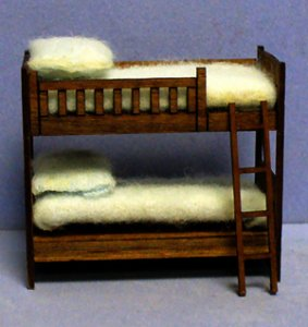 Alex's Bunkbed Quarter-inch scale
