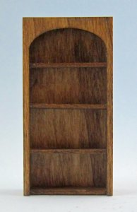 Arched Library Shelves Half-inch scale