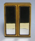 Art Deco Wardrobe Half-inch scale