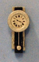 Bergen-Style Wall Clock Quarter-inch scale