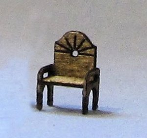 Fan Chair 1/144th scale
