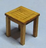 Garden End Table Half-inch scale