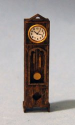 Gothic Clock Quarter-inch scale