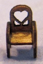 Heart Chair 1/144th scale