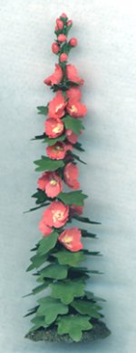 Hollyhock Half-inch scale