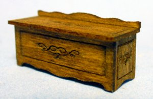 Hope Chest Quarter-inch scale