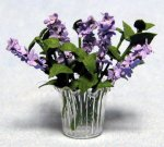 Lilacs in a Vase Half-inch scale