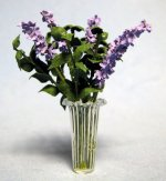 Lilacs in a Vase One-inch scale