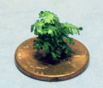Lacy Philodendron in a Terra Cotta Pot 1/144th scale
