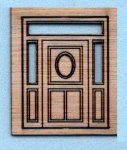Southern Belle or Plantation Door 1/144th scale
